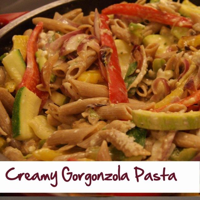 Creamy Gorgonzola Pasta