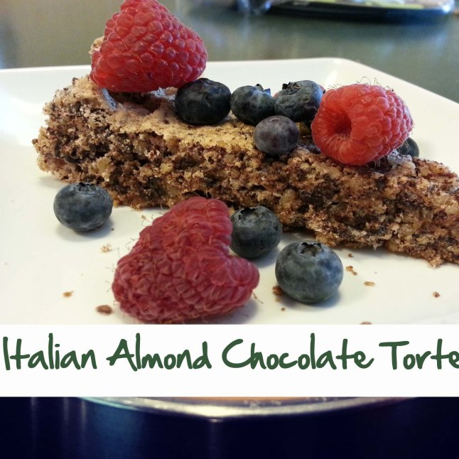Italian Almond Chocolate Torte