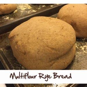 Multiflour Rye Bread