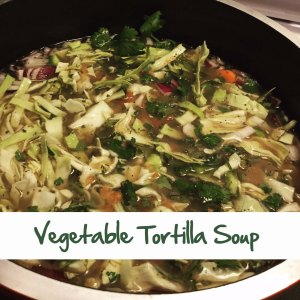 Vegetable Tortillal Soup