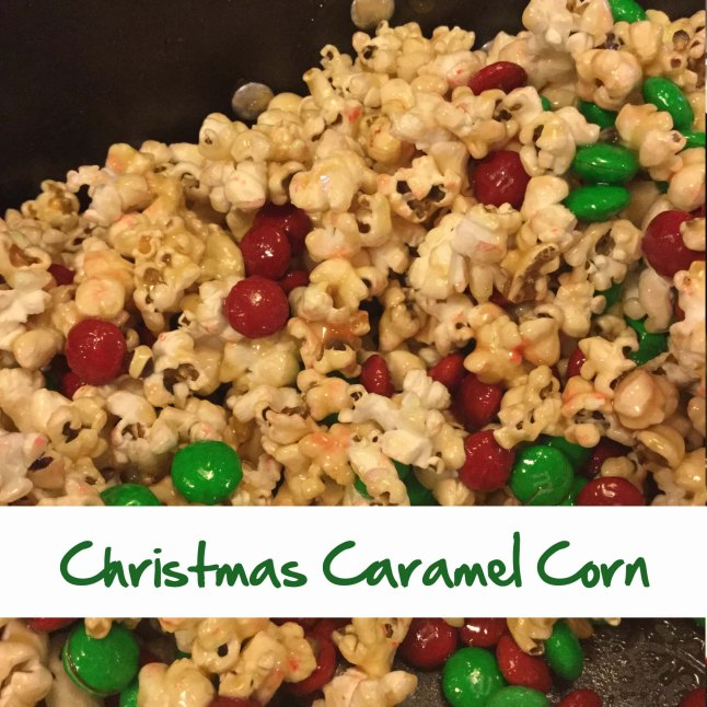 Christmas Caramel Corn