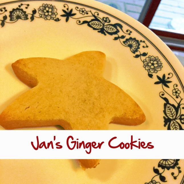 Jan's Ginger Cookies