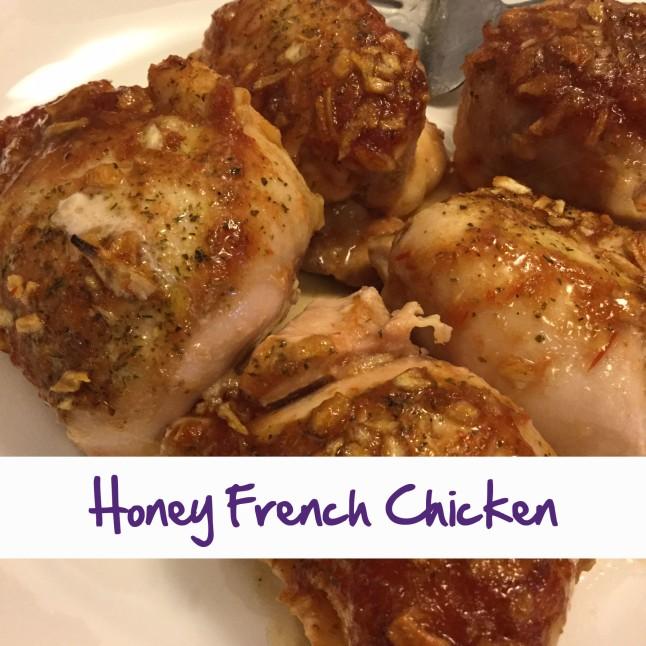 Honey French Chicken