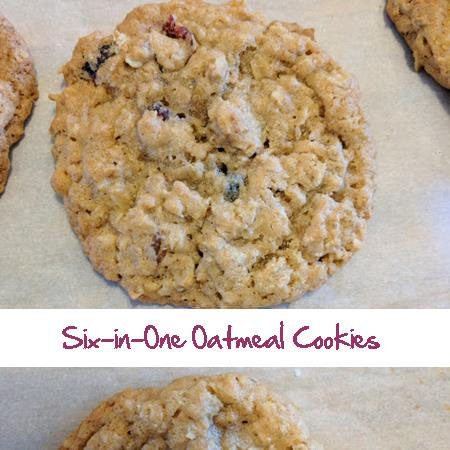 Six in One Oatmeal Cookies