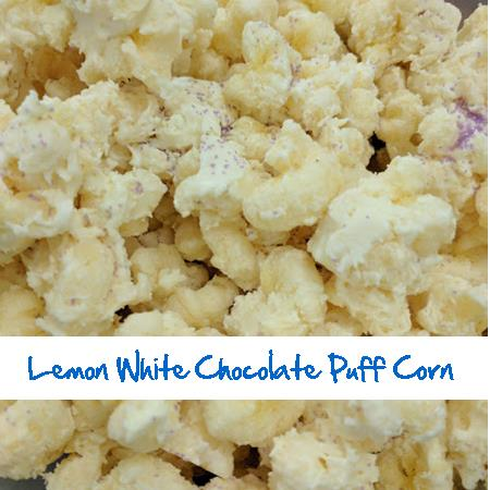 Lemon White Chocolate Puff Corn