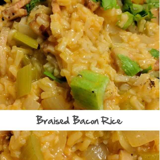 Braised Bacon Rice