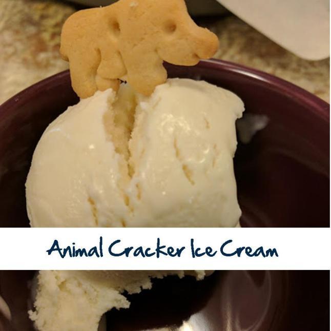 Animal Cracker Ice Cream