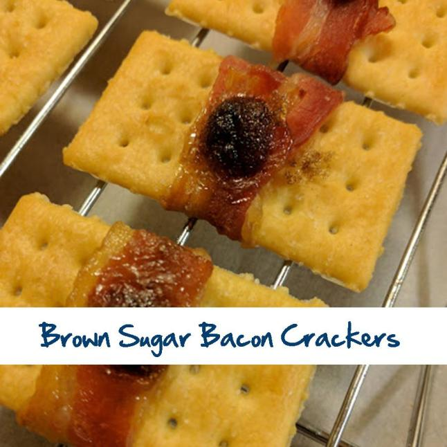 Brown Sugar Bacon Crackers