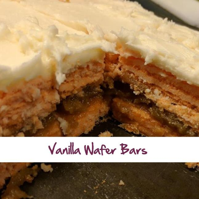 Vanilla Wafer Bars