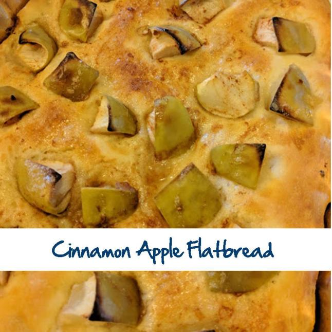 Cinnamon Apple Flatbread