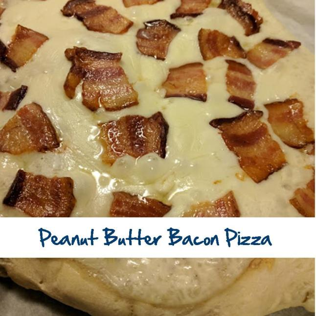 Peanut Butter Bacon Pizza