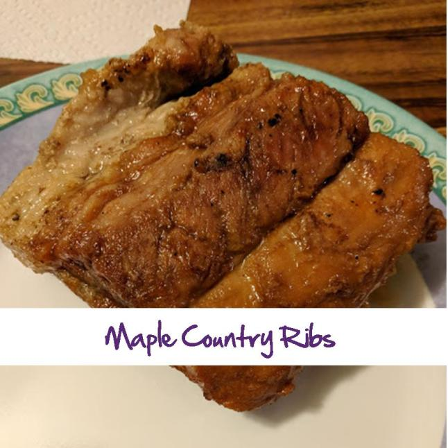 Maple Country Ribs