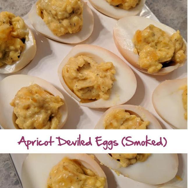 Apricot Deviled Eggs