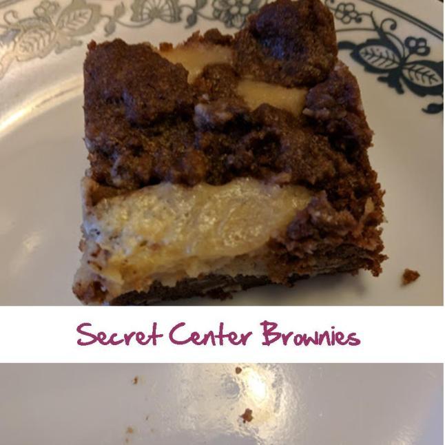 Secret Center Brownies