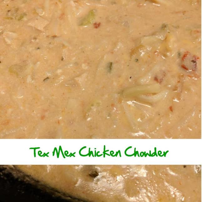 Tex Mex Chicken Chowder