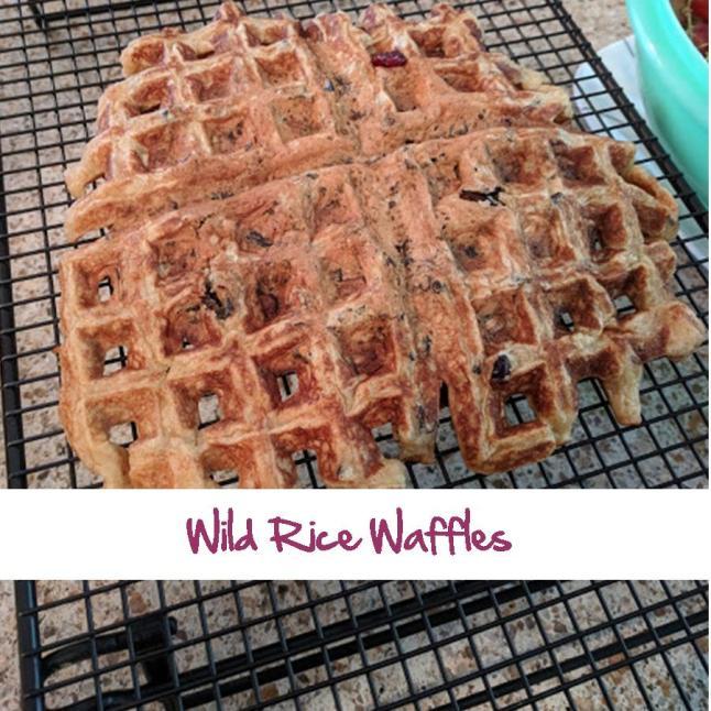 Wild Rice Waffles