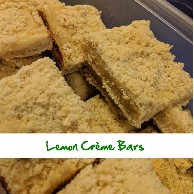 Lemon Creme Bars