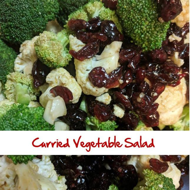 Curried Vegetable Salad Broccoli