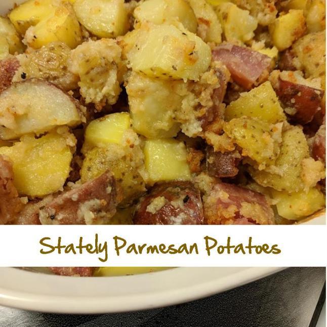 Stately Parmesan Potatoes